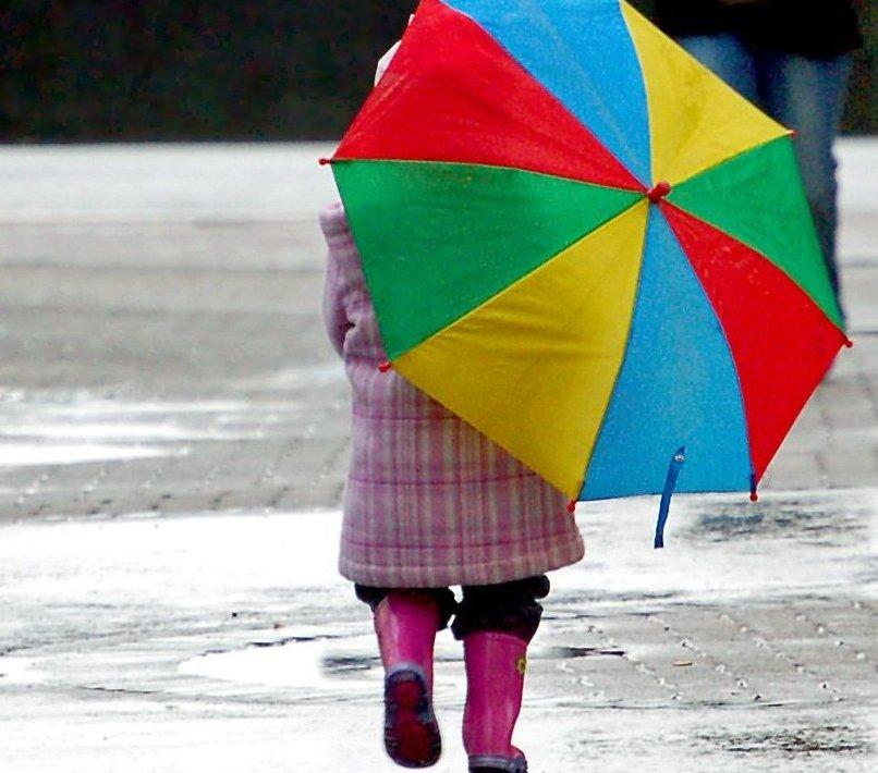 И, безусловно, есть детские зонтики.