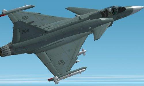 Шведские самолеты займутся патрулированием воздушного пространства над Ливией