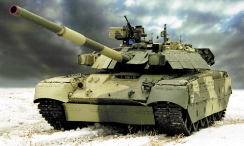 На учениях офицер утонул вместе с танком Т-80
