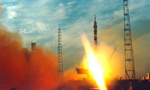 С космодрома Байконур стартовал корабль «Союз ТМА-21»