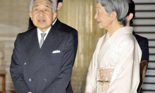 Японский император Акихито и императрица Митико прибыли в японский город Сэндай
