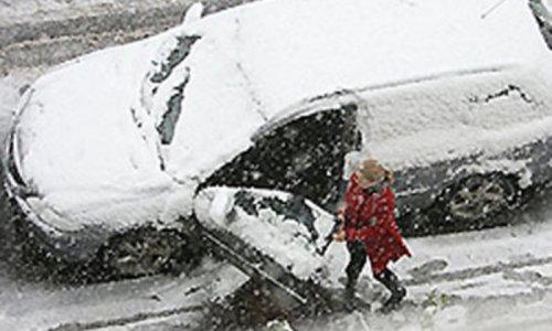 На Австралию сегодня обрушился сильный снегопад