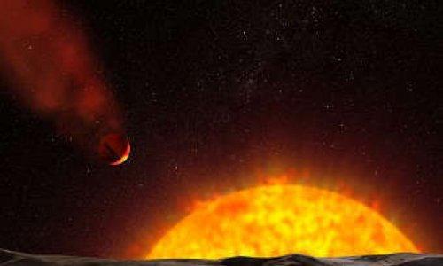 Две кометы столкнулись с Солнцем