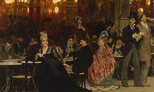 Картина Ильи Репина «Парижское кафе» установила рекорд на «русских торгах»
