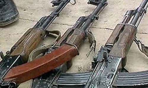 Найдено оружие пропавшее после побега военнослужащего из части