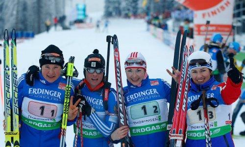 Назван состав женской сборной РФ по биатлону.