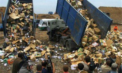 Товары с бывшего Черкизовского рынка в Москве уничтожены