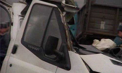 Столкновение микроавтобуса и фуры в Московской области погибли восемь человек