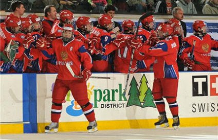 Юниорская сборная России выиграла мировой Кубок вызова
