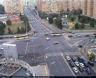 Вебкамера на Площади Абельмановской заставы