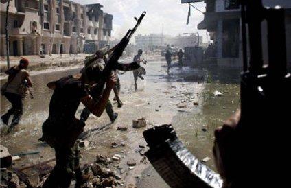 Вооруженные сторонники покойного полковника М.Каддафи захватили город Бани-Валид
