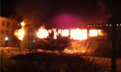 Взрыв в подмосковном ресторане в Горках-25