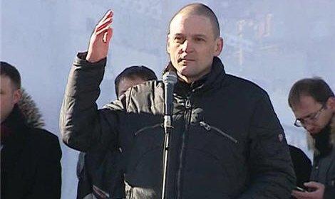 Сергей Удальцов объявил сухую голодовку