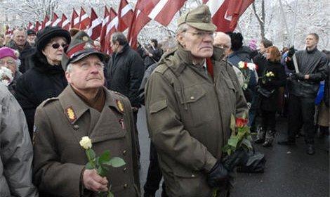16 марта в Латвии шествие ветеранов латышского легиона СС