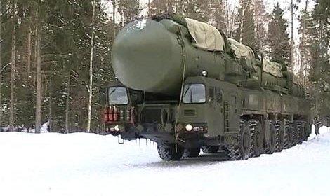Прошли учения новейших ракетных комплексов «Ярс» в зимних условиях