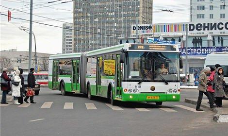На юге Москвы неизвестный обстрелял рейсовый автобус из «пневматики»