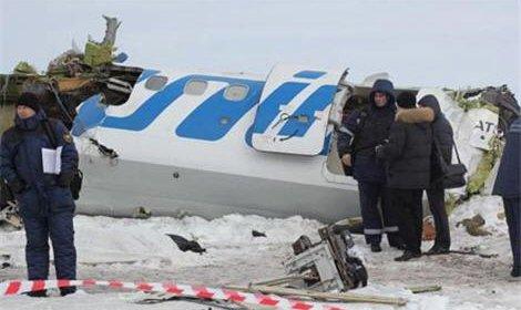 Обнародована запись переговоров пилотов разбившегося борта 120 ATR-72