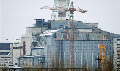 На Чернобыльской АЭС сегодня начались работы по возведению нового саркофага