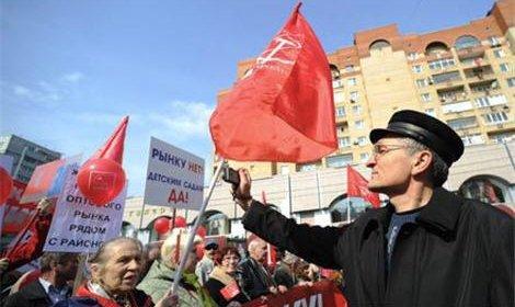 Более 40 тыс человек стали сегодня участниками первомайского шествия в Хабаровске