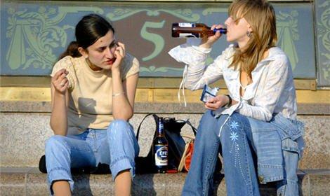 ...увеличить штрафы за распитие спиртных напитков в общественных.