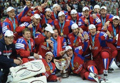 Во вторник в столице пройдет чествование сборной страны по хоккею
