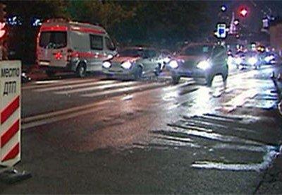 В Якутске автобус столкнулся с легковой машиной