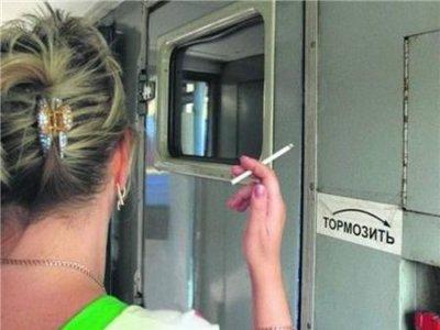 РЖД продолжает борьбу полного запрета курения в электропоездах