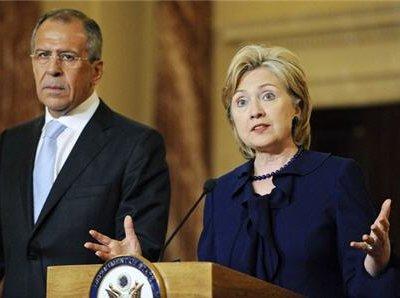 Сергей Лавров проведет в Санкт-Петербурге встречу с госсекретарем США Хиллари Клинтон