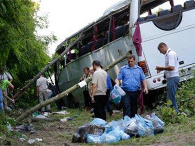Водитель разбившегося в Черниговской области автобуса помещен в СИЗО