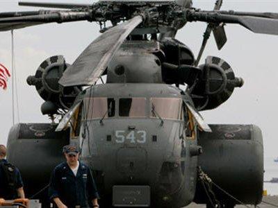 Разбился вертолет ВМС США с пятью членами экипажа