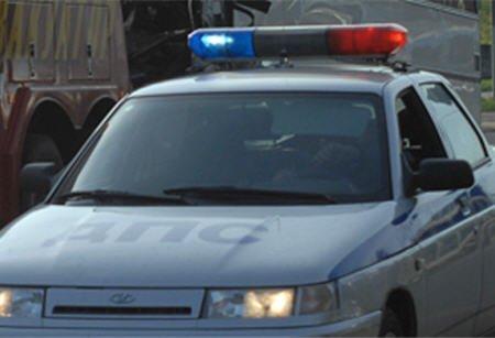 Пьяный новосибирец разбил свой автомобиль во время погони
