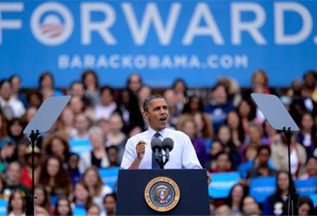 Барак Обама поставил кандидату республиканцев Митту Ромни медицинский диагноз: «Ромнезия»