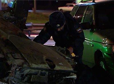 Полиция Москвы ведет поиски владельца автомобиля Cadillac Алексея Русакова