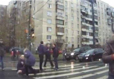 В Санкт-Петербурге нарушитель сбил четырех человек