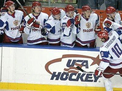 Российская молодёжная сборная по хоккею выиграла суперсерию в Канаде