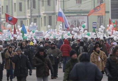 Шествие 15 декабря завершится на одной из центральных площадей Москвы