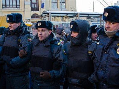 В субботу в Москве на Лубянской площади были задержаны около 40-ка человек