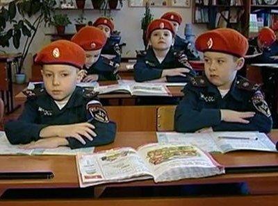 В Новосибирской области МЧС открыло кадетский класс на базе сельской школы