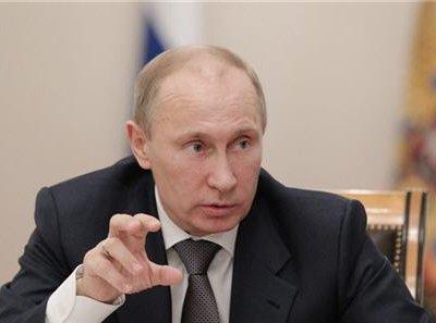 Владимира Путина предложили внести в «список Магнитского»