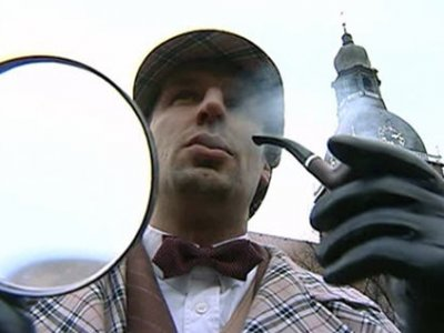 Рига отметила день рождения Шерлока Холмса