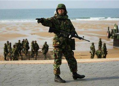 Южная Корея и США начали крупномасштабные военные учения