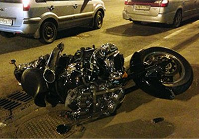 В Москве фура сбила известного байкера
