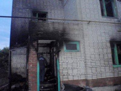 В Тульской области сгорела семья из четырех человек