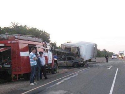 Страшное ДТП на московской трассе в Волгоградской области