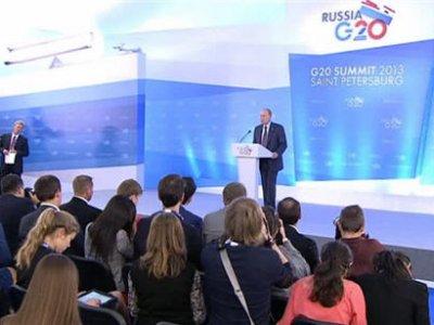 В Петербурге завершился саммит «Большой двадцатки»