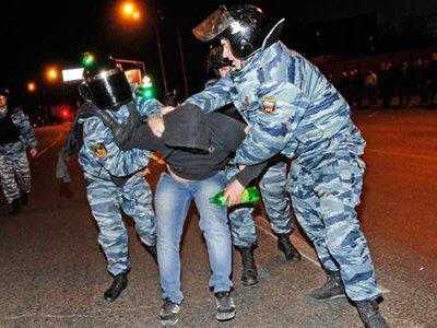 Весь личный состав московской полиции поднят по тревоге по плану «Вулкан»