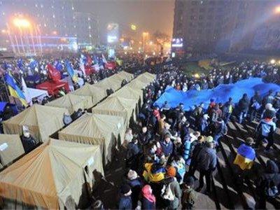 Акция на Европейской площади в Киеве