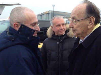 Михаил Ходорковский приземлился в Германии