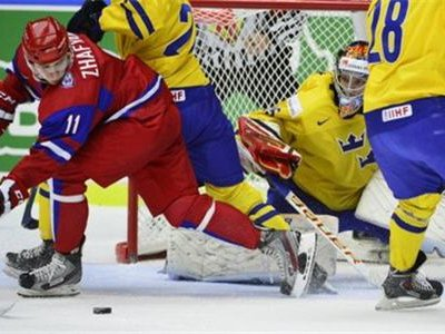 Сборная России проиграла шведской команде в полуфинале