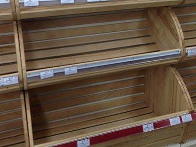 В Ростовской области из-за снегопадов в магазинах пропал хлеб